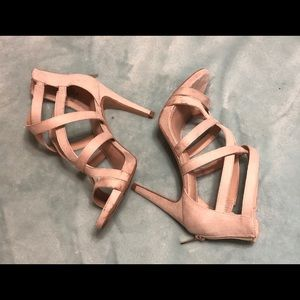 Kelly & Katie Shoes - Kelly & Katie tan high heel shoes